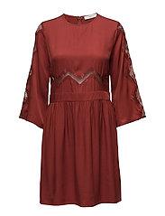 Ann dress AO17 - ROSEWOOD