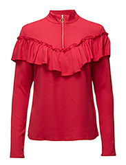 Hanne blouse ZE4 16 - ROCOCCO RED