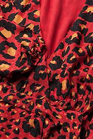 db3ab6c5662a Gestuz 35 Gabriella Kleider Ma17 Dress 116 Leopard red € w0XOq