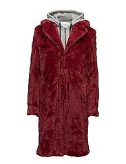 Dehla coat MA17 - MERLOT