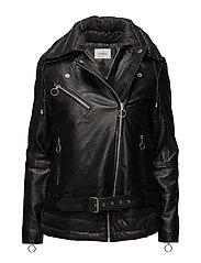 Ezra jacket MA17 - BLACK