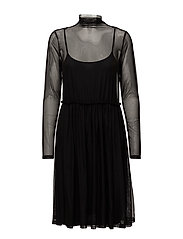 Mesha dress ZE1 17 - BLACK