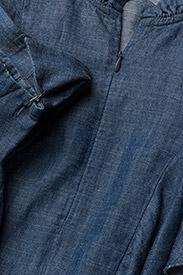 Gestuz - Cyndie blouse SO18 - langærmede bluser - denim blue - 3