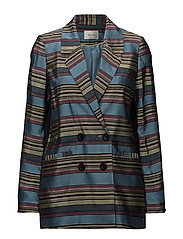 Samin blazer SO18 - MULTI STRIPES