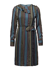 Samin dress SO18 - MULTI STRIPES