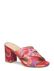 Soffy mules MS18 - POINSETTIA