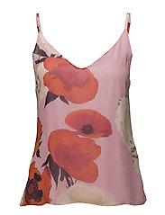 Violetta singlet MS18 - PINK FLOWER