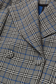 Gestuz - Vinne coat MS18 - trenchcoats - black/white check - 2