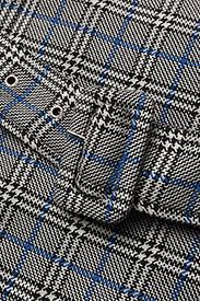 Gestuz - Vinne coat MS18 - trenchcoats - black/white check - 3