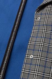 Gestuz - Vinne coat MS18 - trenchcoats - black/white check - 5