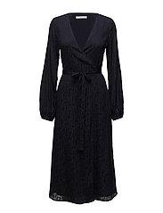 Cete wrap dress MS18 - DEEP WELL