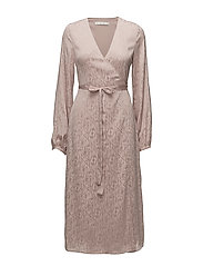 Cete wrap dress MS18 - ROSE DUST