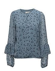 Jeanett blouse MS18 - BLUE FLOWER