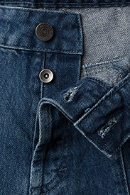 Gestuz - Rubyn jeans MS18 - schlaghosen - carolina blue - 3