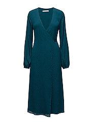 Nete wrap dress ZE3 17 - DEEP LAGOON