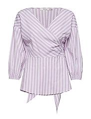 Wray blouse ZE3 17 - SHEER LILAC/STRIPE