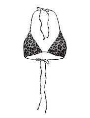 Pilea bikini top HS18 - BEIGE ANIMAL PRINT