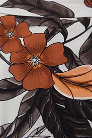 Gestuz - Greye long skirt HS18 - midi - grey flower print - 2