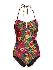 Kelly swimsuit - TROPICAL YELLOW