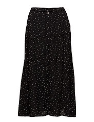 Harper skirt AO18 - BLACK DOT