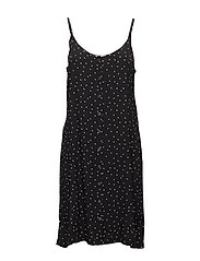 Harper dress AO18 - BLACK DOT