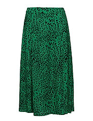 Loui skirt AO18 - GREEN LEOPARD