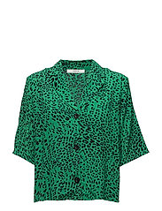 Loui shirt AO18 - GREEN LEOPARD