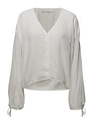 Jazy shirt AO18 - CLOUD DANCER