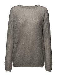Molly pullover AO18 - L.GREY MELANGE