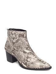 Ava boots MA18 - BLACK/WHITE
