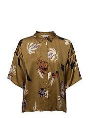 Aya shirt MA18 - PLANTATION FLOWER