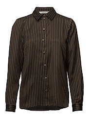 Strika shirt MA18 - BROWN STRIBE