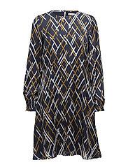 Vinta dress MA18 - VINTA BLUE