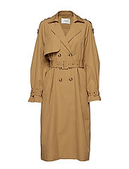 Mira trenchcoat MA18 - ANTIQUE BRONZE