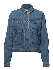 Jenelle jacket MA18 - MEDIUM BLUE