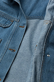 Gestuz - Jenelle jacket MA18 - denim jackets - medium blue - 4