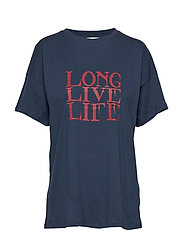 Live tee MA18 - DRESS BLUES