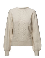 Adel pullover MA18 - CLOUD DANCER