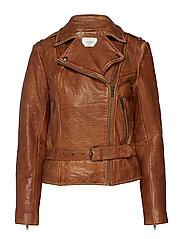 Annka jacket MA18 - COGNAC
