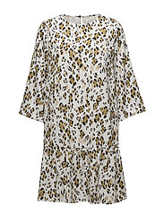 Leopa ls dress MA18 - GOLDEN LEOPARD