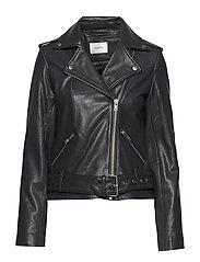 Taiba emb jacket MA18 - BLACK