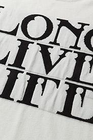 Gestuz - Linka ss pullover MA18 - printed t-shirts - pristine - 2