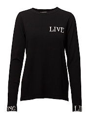 Linka ls pullover MA18 - BLACK