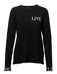 Linka ls pullover MA18 - BLACK