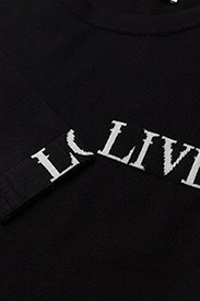Gestuz - Linka ls pullover MA18 - jumpers - black - 2