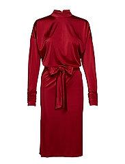 Philo dress - RED DAHLIA