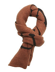 Life scarf MA18 - CARAMEL CAFé