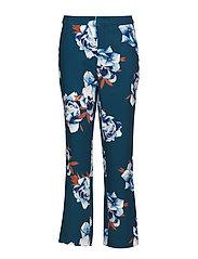 Fala pants YE18 - DEEP PINE FLOWER
