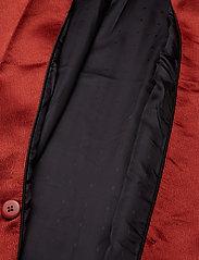 Gestuz - Nicola blazer YE18 - oversized blazere - burned - 4