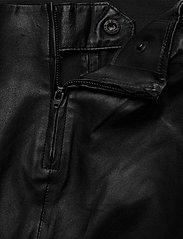Gestuz - SashaGZ legging NOOS - læderbukser - black - 3